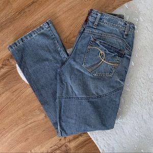 Tourmaster Indigo Denim Moto Pants Size 8-10